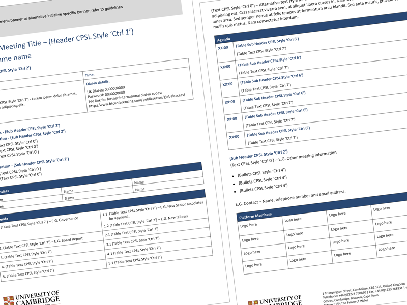 Creating a branded Microsoft Word template