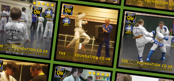 Freelance Artworker Brighton for The Choi Foundation Martial Arts Classes